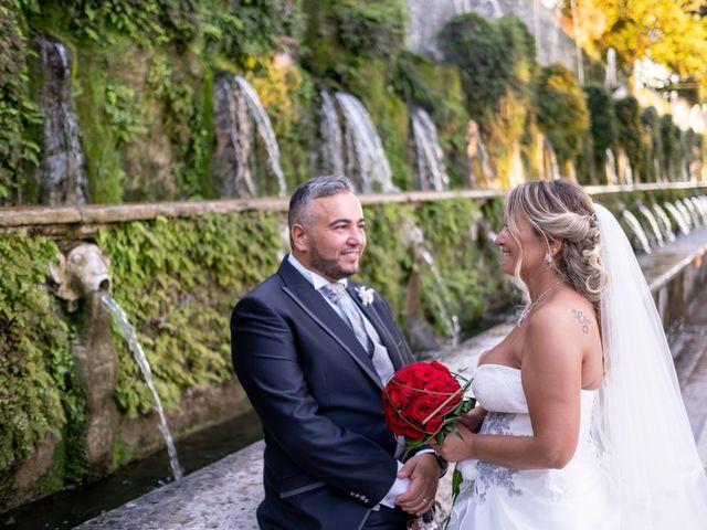 Il matrimonio di Simona e Gianluca a Castel Madama, Roma 30