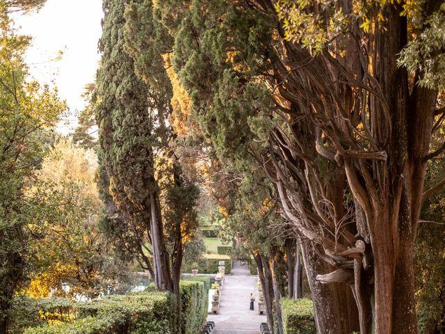 Il matrimonio di Simona e Gianluca a Castel Madama, Roma 31