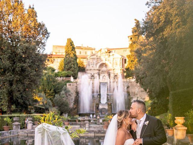 Il matrimonio di Simona e Gianluca a Castel Madama, Roma 32
