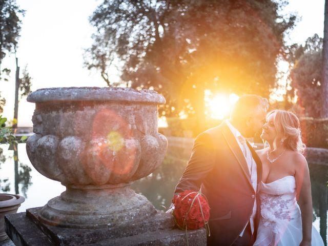 Il matrimonio di Simona e Gianluca a Castel Madama, Roma 33