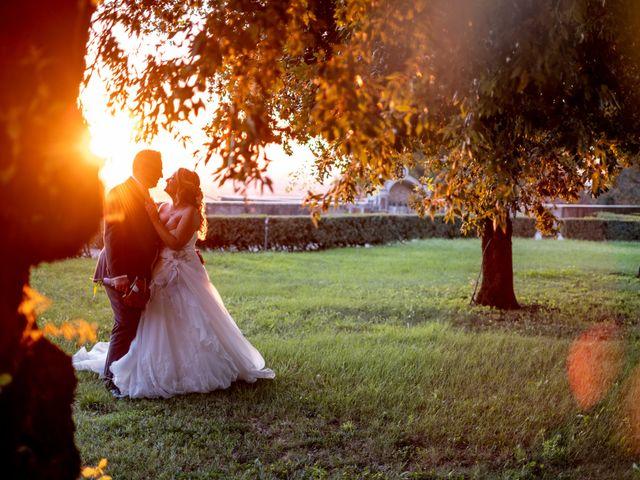 Il matrimonio di Simona e Gianluca a Castel Madama, Roma 35