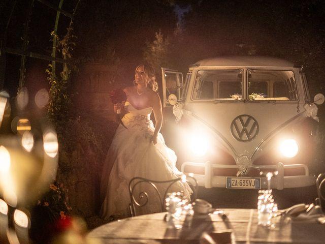 Il matrimonio di Simona e Gianluca a Castel Madama, Roma 36