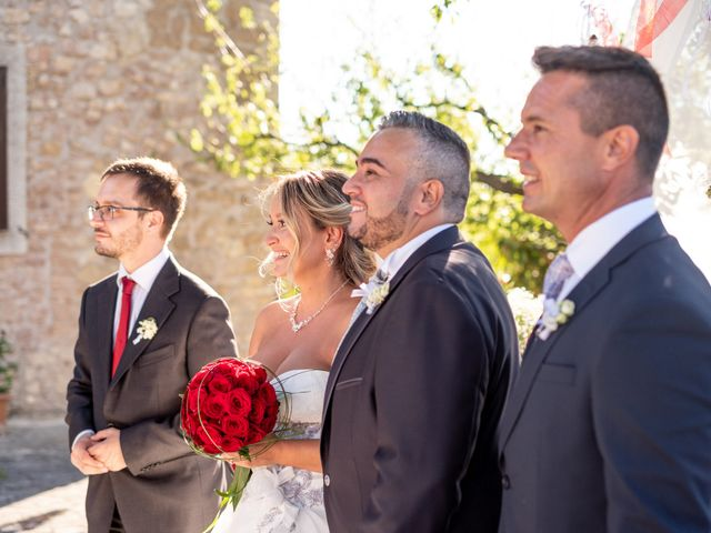Il matrimonio di Simona e Gianluca a Castel Madama, Roma 41