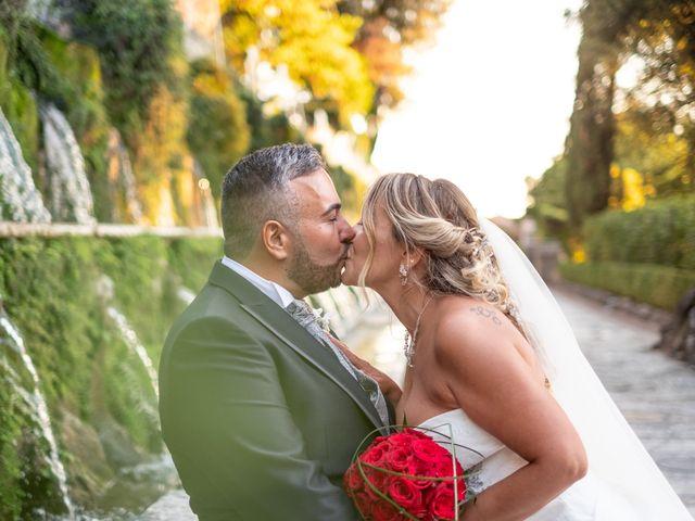 Il matrimonio di Simona e Gianluca a Castel Madama, Roma 43