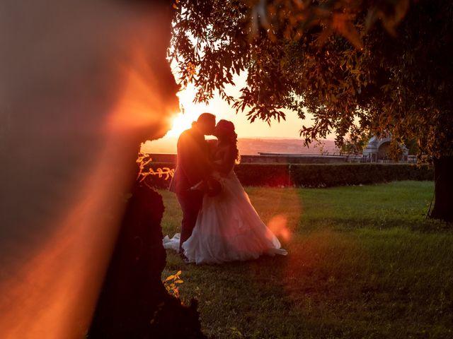 Il matrimonio di Simona e Gianluca a Castel Madama, Roma 44