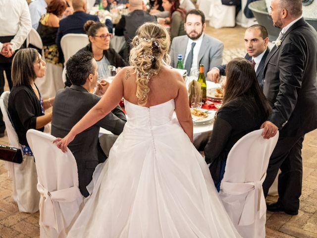 Il matrimonio di Simona e Gianluca a Castel Madama, Roma 46