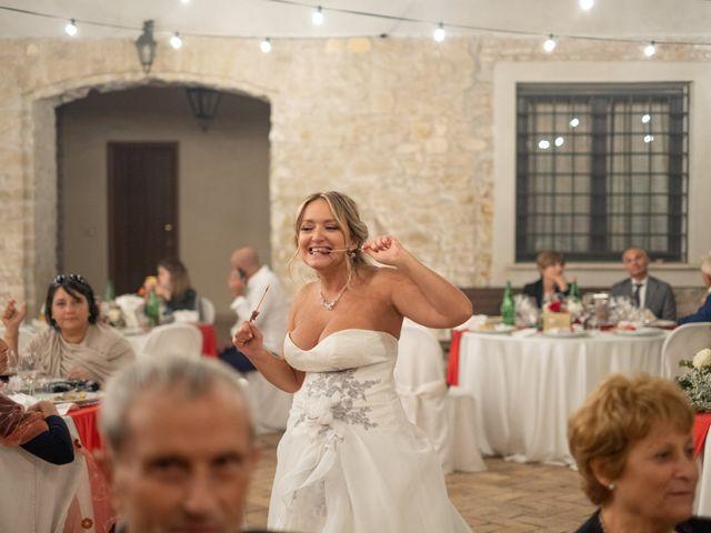 Il matrimonio di Simona e Gianluca a Castel Madama, Roma 47