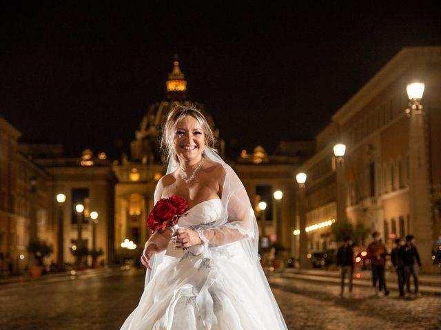 Il matrimonio di Simona e Gianluca a Castel Madama, Roma 49