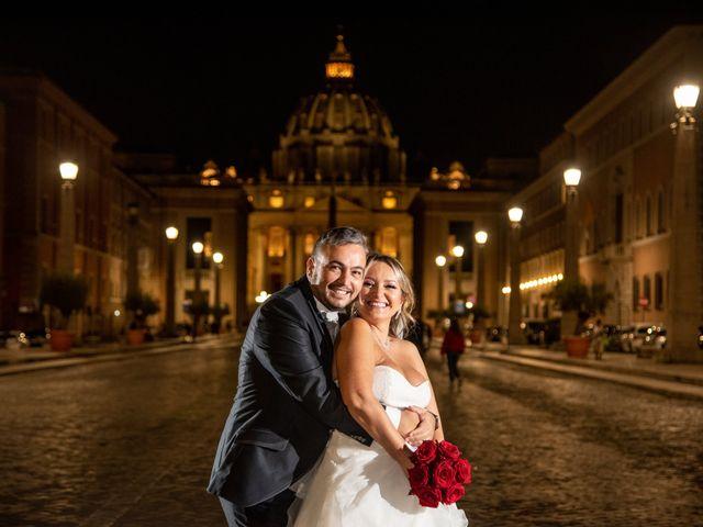 Il matrimonio di Simona e Gianluca a Castel Madama, Roma 50