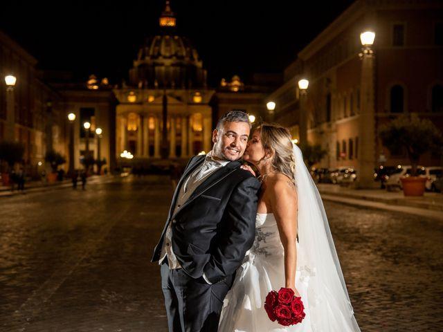 Il matrimonio di Simona e Gianluca a Castel Madama, Roma 53