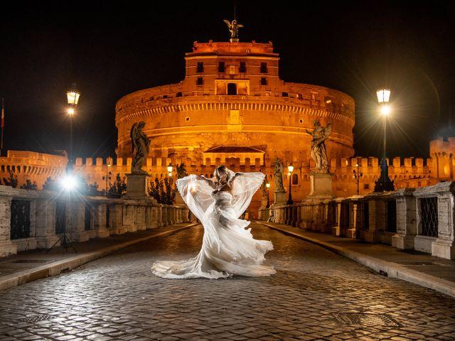 Il matrimonio di Simona e Gianluca a Castel Madama, Roma 55