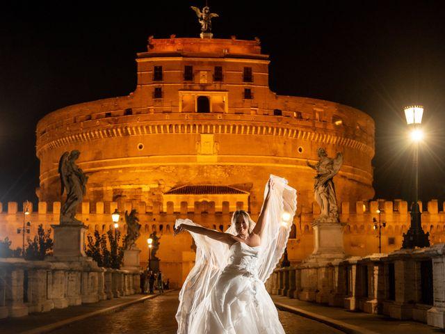 Il matrimonio di Simona e Gianluca a Castel Madama, Roma 56