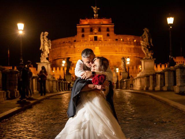 Il matrimonio di Simona e Gianluca a Castel Madama, Roma 58
