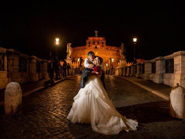 Il matrimonio di Simona e Gianluca a Castel Madama, Roma 59
