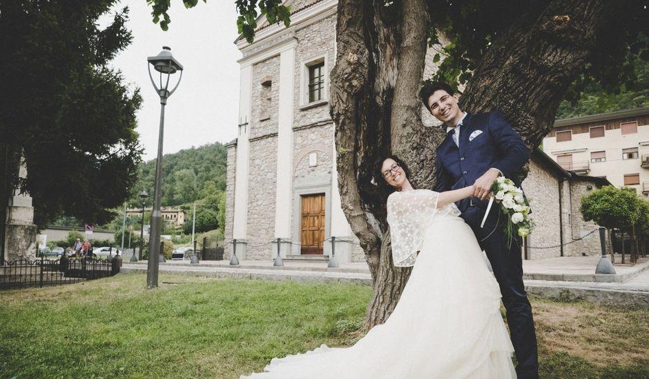 Il matrimonio di Matteo e Federica a Leffe, Bergamo