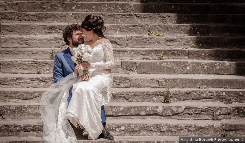 Il matrimonio di Marco e Giusi a San Miniato, Pisa