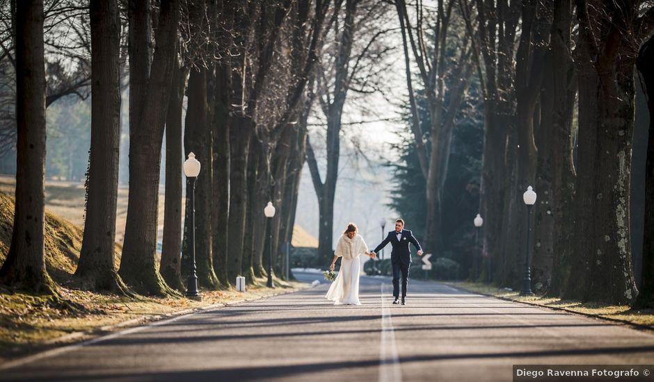 Il matrimonio di Marco e Chiara a Cantello, Varese