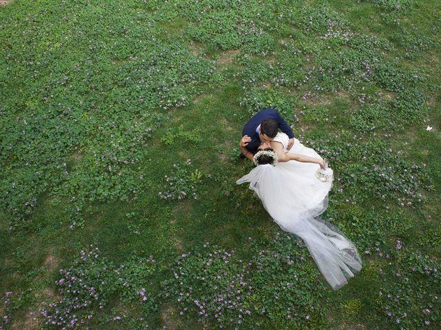 le nozze di Giacomo Massi e Ksenia Li