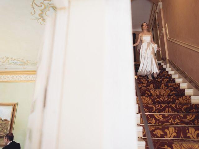 Il matrimonio di Dave e Rebecca a Costermano, Verona 31
