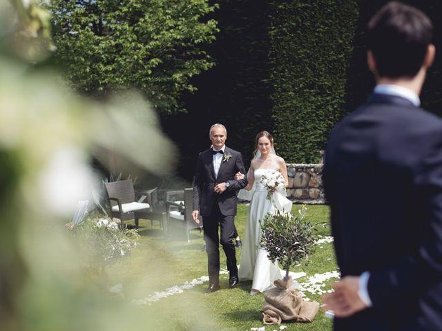 Il matrimonio di Dave e Rebecca a Costermano, Verona 34