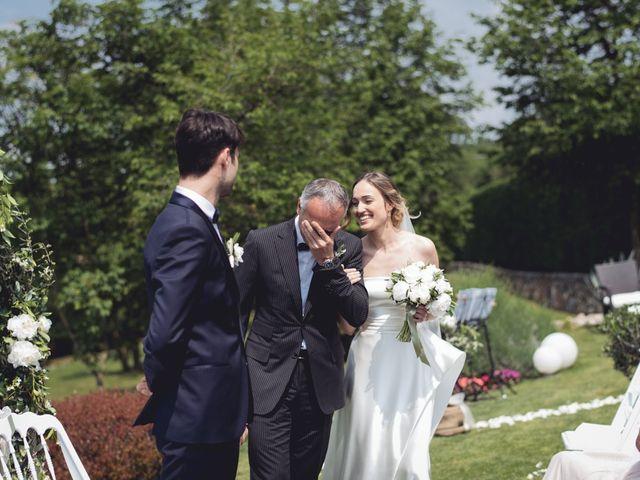Il matrimonio di Dave e Rebecca a Costermano, Verona 35