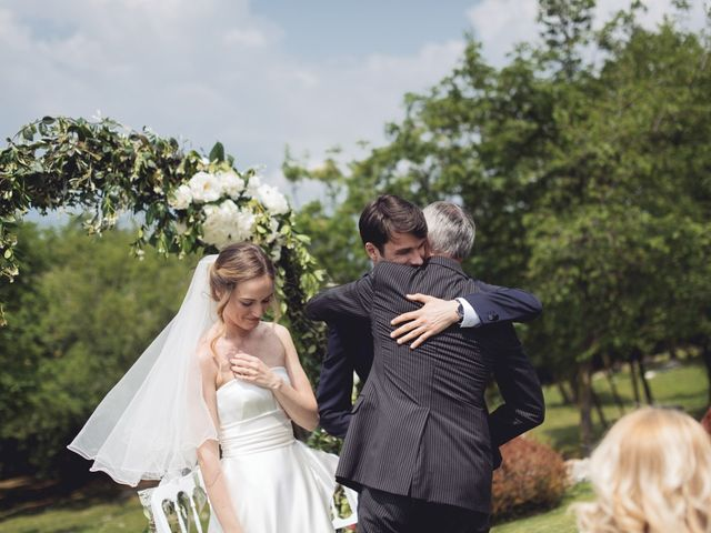 Il matrimonio di Dave e Rebecca a Costermano, Verona 38