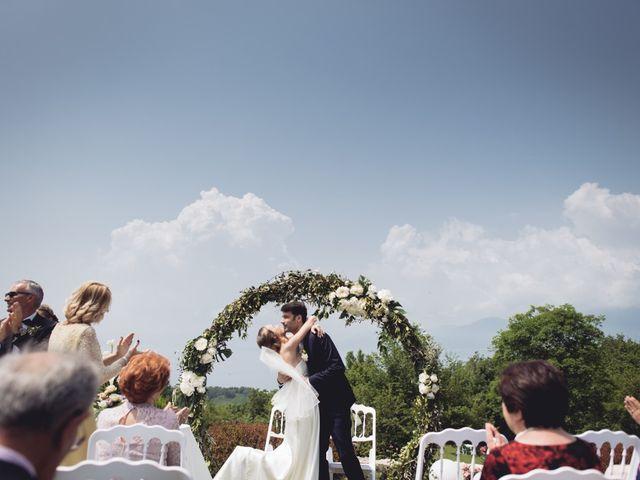 Il matrimonio di Dave e Rebecca a Costermano, Verona 41