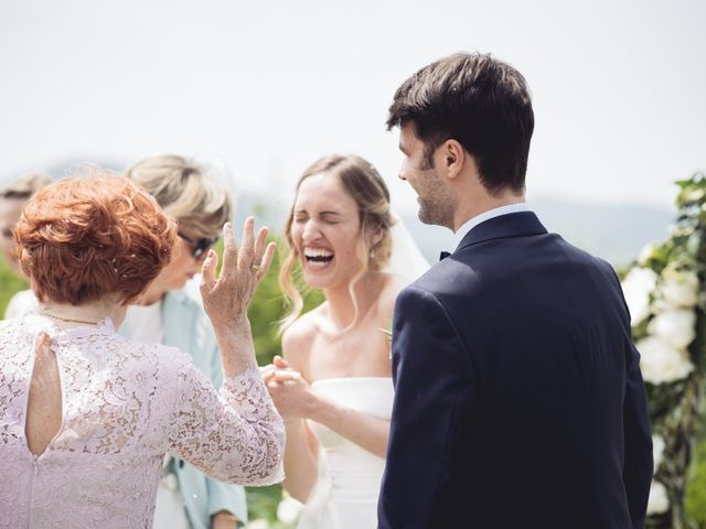 Il matrimonio di Dave e Rebecca a Costermano, Verona 43