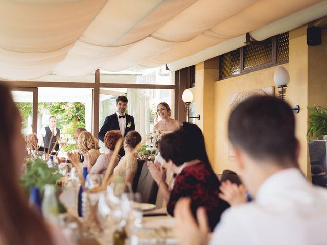 Il matrimonio di Dave e Rebecca a Costermano, Verona 66