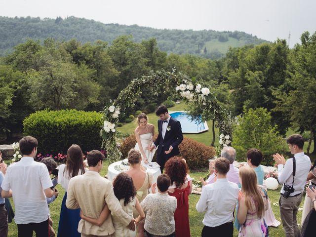 Il matrimonio di Dave e Rebecca a Costermano, Verona 73