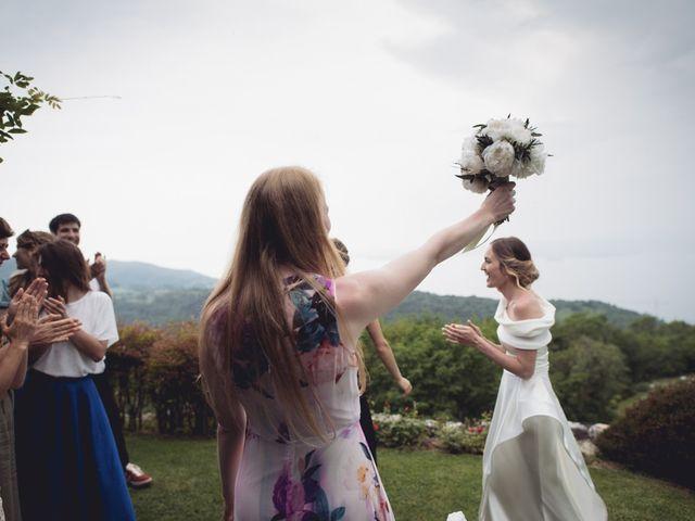 Il matrimonio di Dave e Rebecca a Costermano, Verona 76