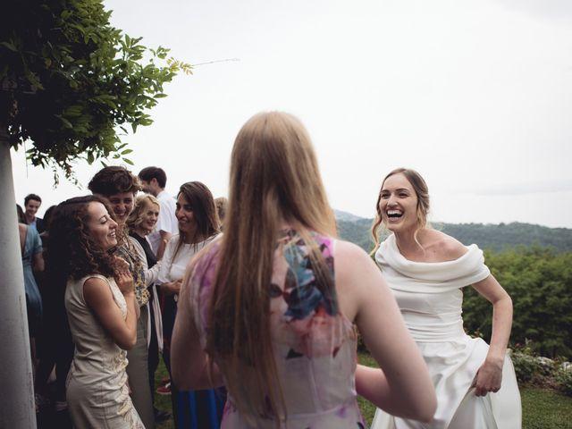 Il matrimonio di Dave e Rebecca a Costermano, Verona 77