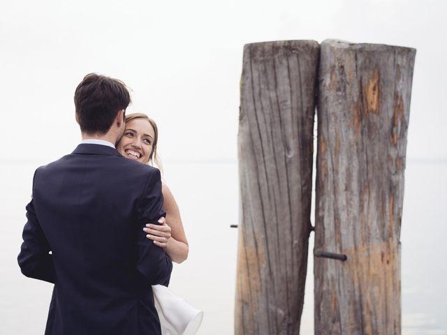 Il matrimonio di Dave e Rebecca a Costermano, Verona 1