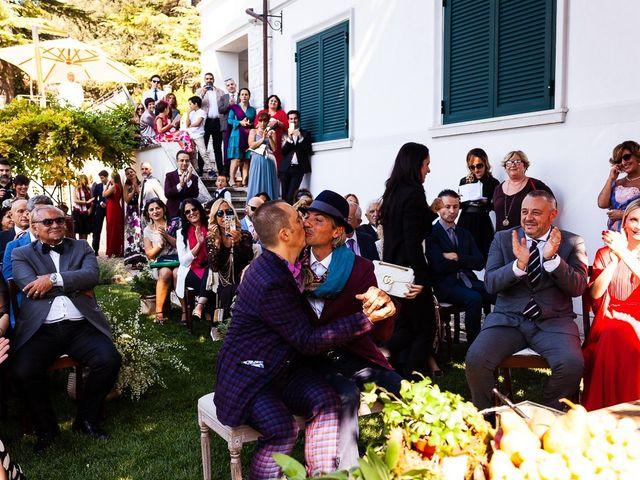 Il matrimonio di Giovanni e Alessio a Fara in Sabina, Rieti 38