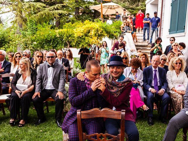 Il matrimonio di Giovanni e Alessio a Fara in Sabina, Rieti 52