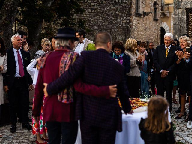 Il matrimonio di Giovanni e Alessio a Fara in Sabina, Rieti 75