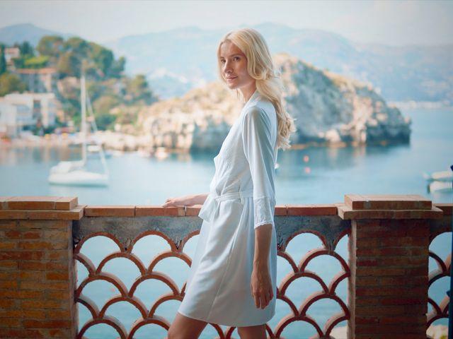 Il matrimonio di Valerio e Veronika a Taormina, Messina 14
