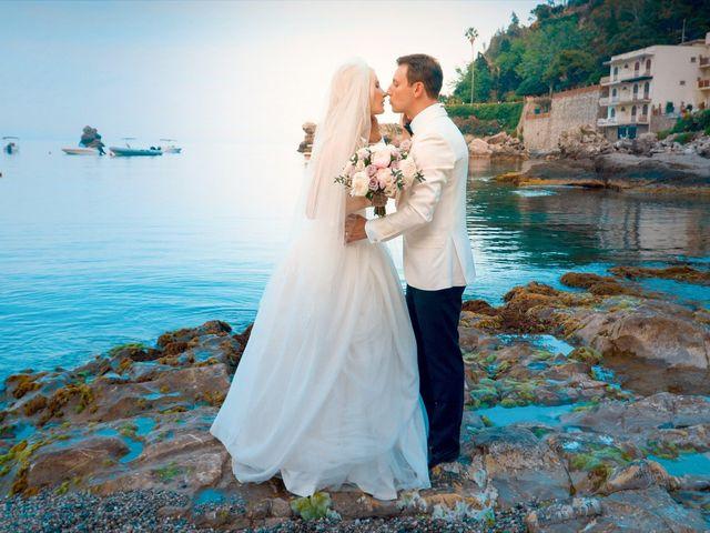Il matrimonio di Valerio e Veronika a Taormina, Messina 54