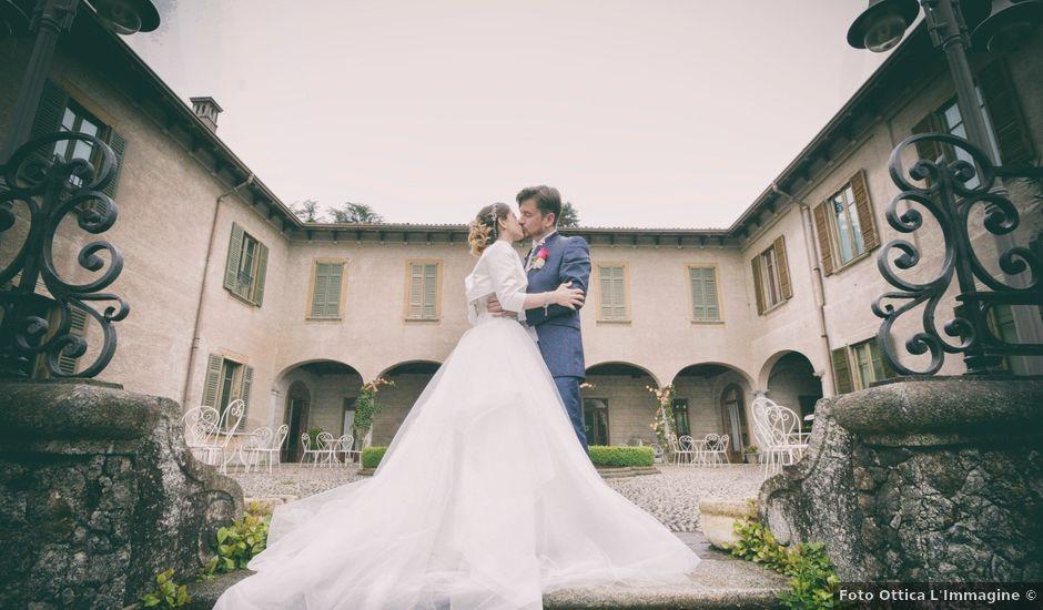 Il matrimonio di Claudio e Valentina a Erba, Como