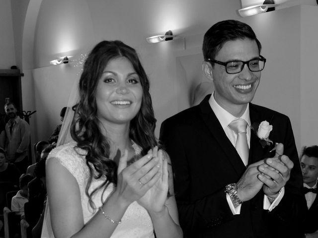 le nozze di Matteo e Pamela