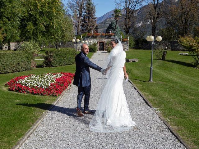 Il matrimonio di Marco e Samy a Barni, Como 1