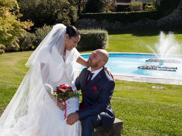 Il matrimonio di Marco e Samy a Barni, Como 2