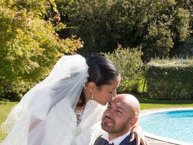 Il matrimonio di Marco e Samy a Barni, Como 6
