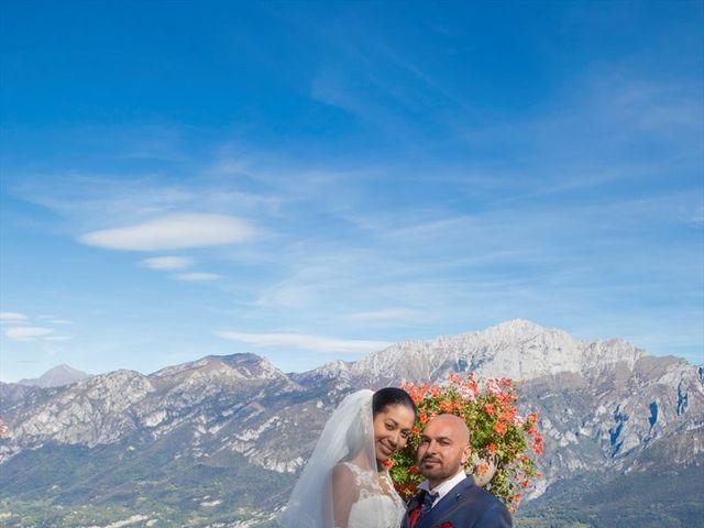 Il matrimonio di Marco e Samy a Barni, Como 25
