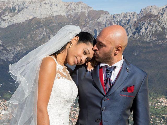 Il matrimonio di Marco e Samy a Barni, Como 29