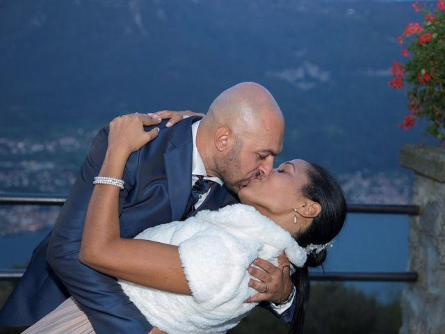 Il matrimonio di Marco e Samy a Barni, Como 44