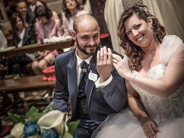 Il matrimonio di Fabio e Daniela a Pontoglio, Brescia 117