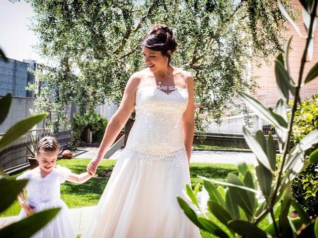 Il matrimonio di Renzo e Elisabetta a Valeggio sul Mincio, Verona 17