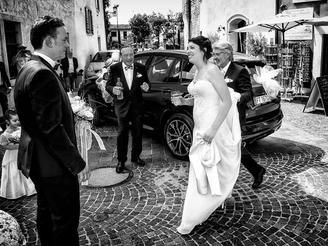 Il matrimonio di Renzo e Elisabetta a Valeggio sul Mincio, Verona 26
