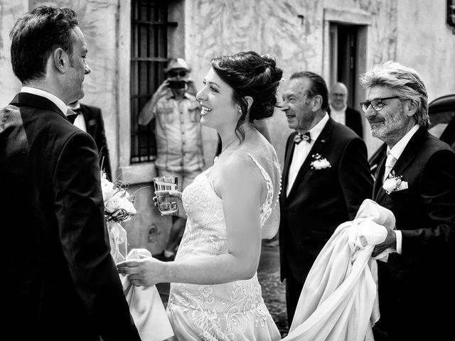 Il matrimonio di Renzo e Elisabetta a Valeggio sul Mincio, Verona 27